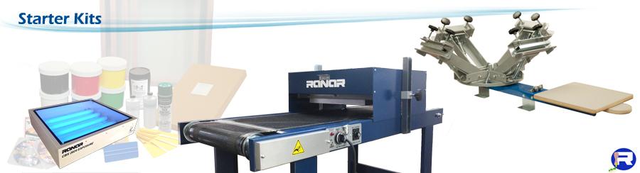 Screen Printing Equipment-Silk Screening Supplies-Kits