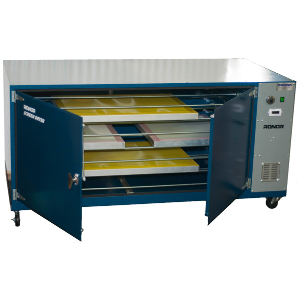 Screen Printing Drying Cabinet ~ Screen stencil or image drying prepress tshirt