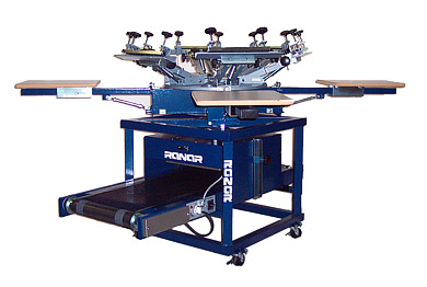 All In One Screen Printing Machine And Low Riding T Shirt
