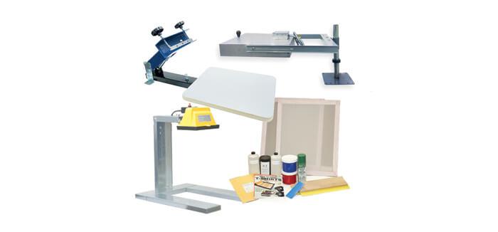 Home Starter Screen Printing kit-Diy T-shirt Printing Setup