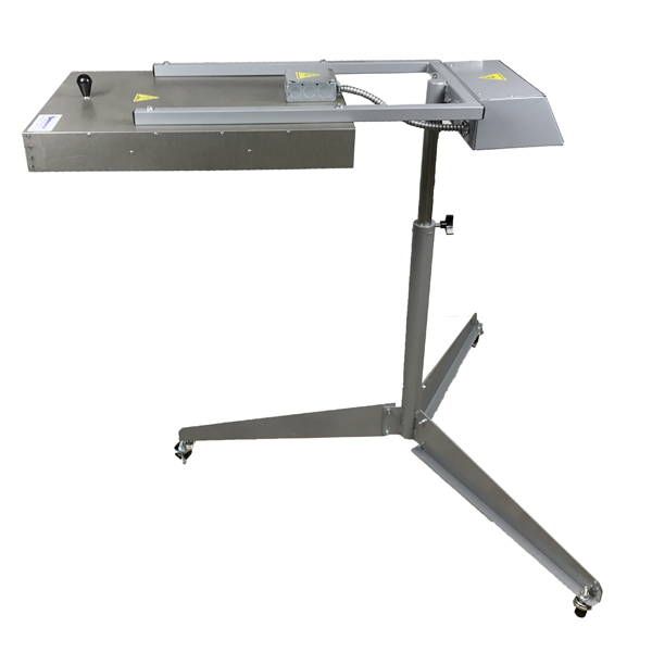 Flash Cure Unit Screen Printing Infrared Spot Dryer
